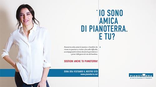 Luisa Ranieri per Pianoterra