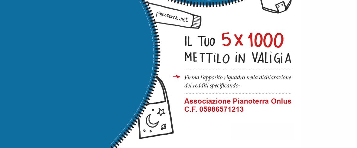 5x1000 a Pianoterra