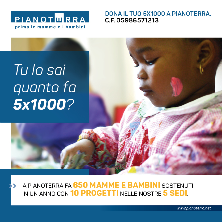 Cartolina 5x1000 Pianoterra